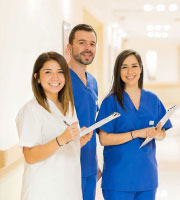 Smiling Health Care Workers
